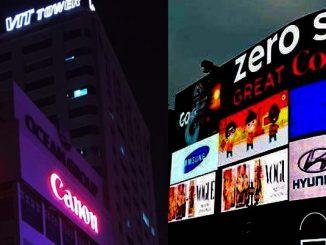 Làm biển quảng cáo chữ nổi  đèn led, alu, mica, 3D