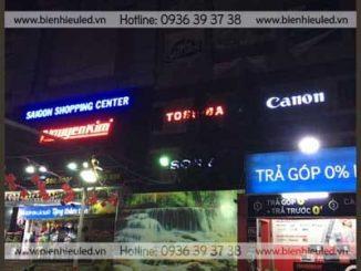 Thi công biển quảng cáo tại Hà Nội 2