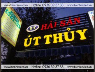 Thi công biển hiệu quảng cáo quận Thanh Xuân
