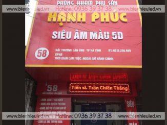 Làm biển hiệu quảng cáo quận Long Biên