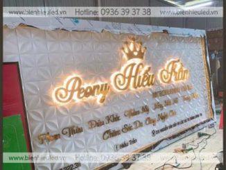 Thi công biển hiệu quảng cáo tại Thanh Xuân